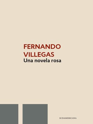 cover image of Una novela rosa