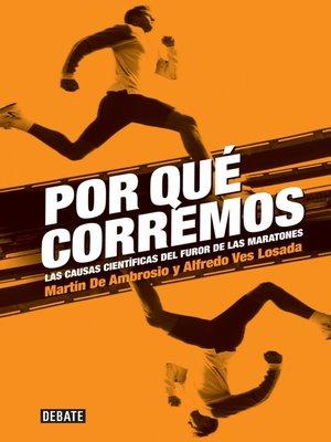 cover image of Por qué corremos