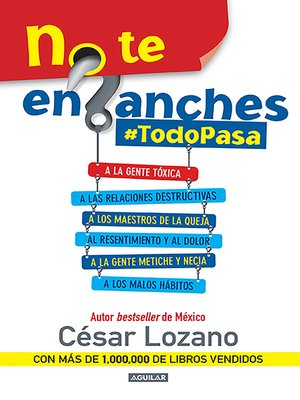cover image of No te enganches #TodoPasa