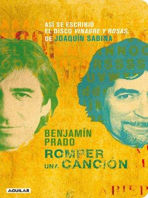 cover image of Romper una canción
