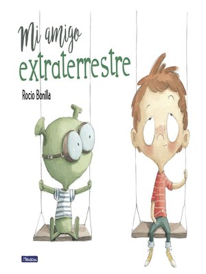 cover image of Mi amigo extraterrestre