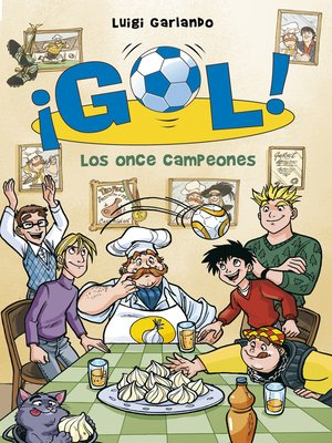 cover image of Los once campeones (Serie ¡Gol! 33)