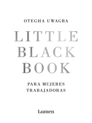 cover image of Little Black Book para mujeres trabajadoras