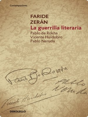 cover image of La guerrilla literaria