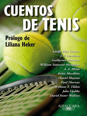 cover image of Cuentos de tenis