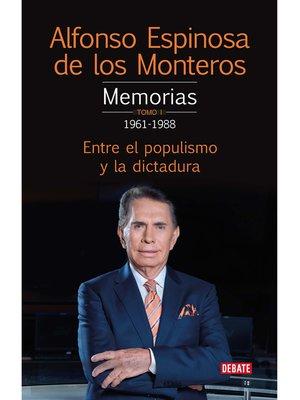 cover image of Memorias. Tomo 1 1961-1978