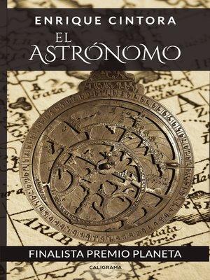 cover image of El astrónomo