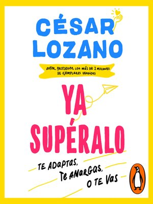 cover image of ¡Ya supéralo!