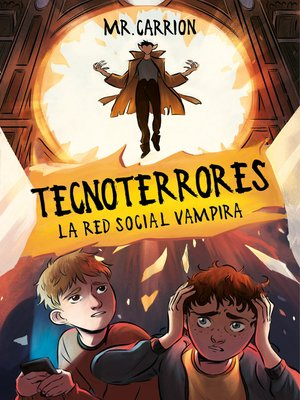 cover image of La red social vampira
