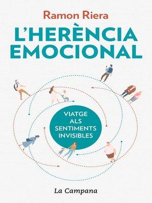 cover image of L'herència emocional