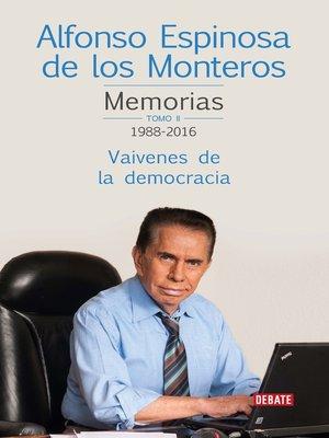 cover image of Memorias Tomo II 1988-2016