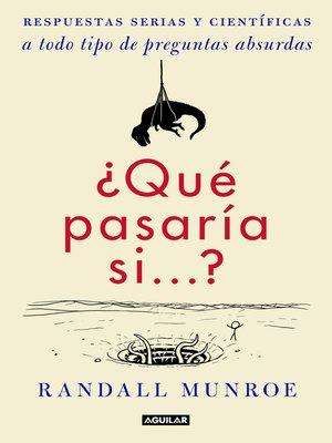 cover image of ¿Qué pasaría si...?