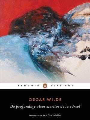 cover image of De profundis y otros escritos de la cárcel