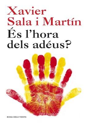 cover image of És l'hora dels adéus?