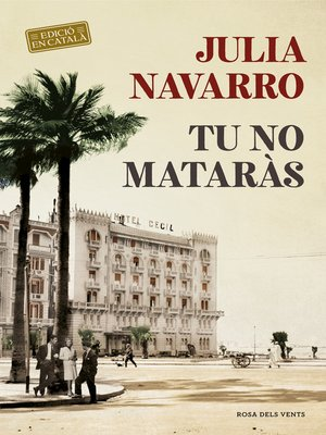 cover image of Tu no mataràs