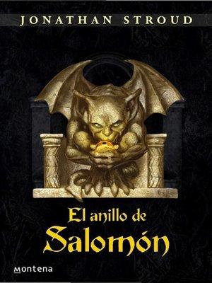 cover image of El anillo de Salomón
