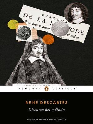 cover image of Discurso del método