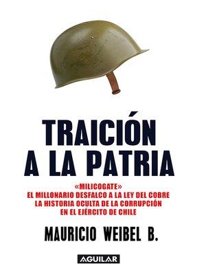 cover image of Traición a la patria.