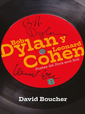 cover image of Bob Dylan y Leonard Cohen