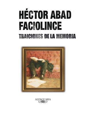 cover image of Traiciones de la memoria