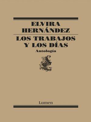 cover image of Los trabajos y los días