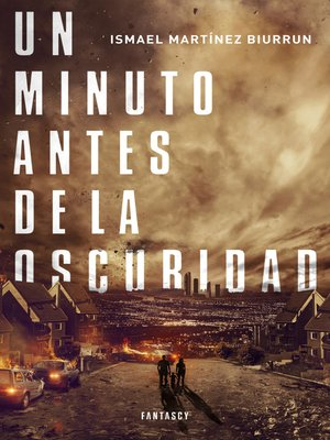 cover image of Un minuto antes de la oscuridad