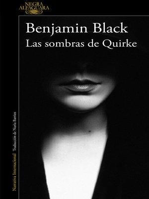 cover image of Las sombras de Quirke