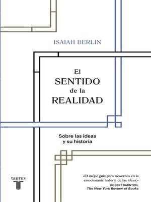 cover image of El sentido de la realidad