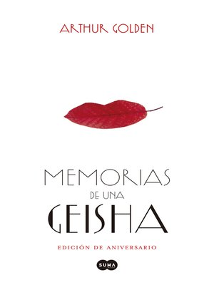cover image of Memorias de una Geisha