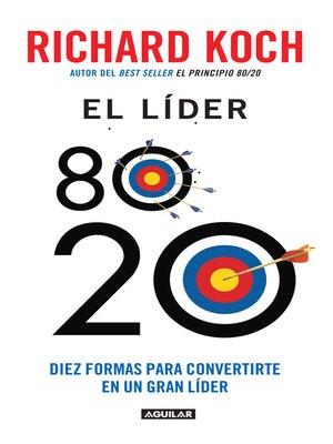 cover image of El líder 80/20
