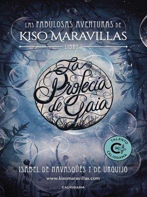 cover image of La profecía de Gaia
