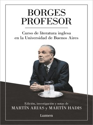 cover image of Borges profesor
