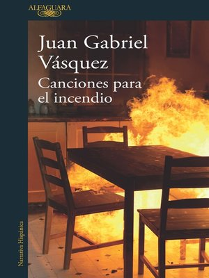 cover image of Canciones para el incendio