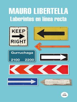 cover image of Laberintos en línea recta