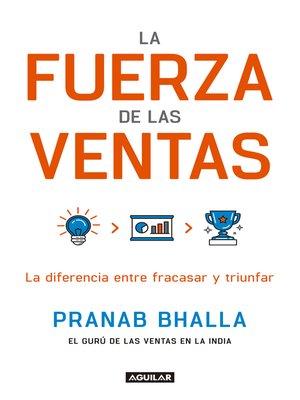 cover image of La fuerza de las ventas