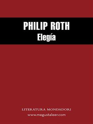 cover image of Elegía