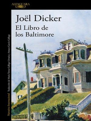 cover image of El Libro de los Baltimore