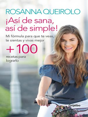 cover image of Así de sana, así de simple