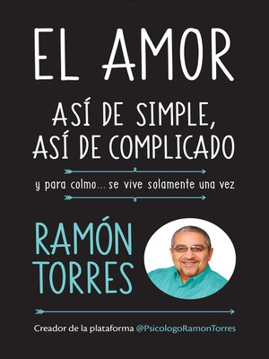 cover image of El amor