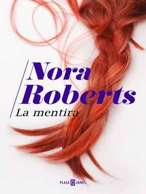 cover image of La mentira