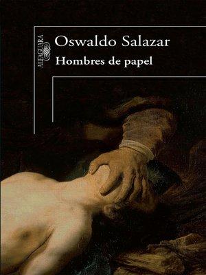 cover image of Hombres de papel