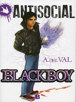 cover image of BlackBoy (Antisocial)