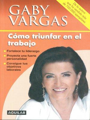 cover image of Cómo triunfar en el trabajo