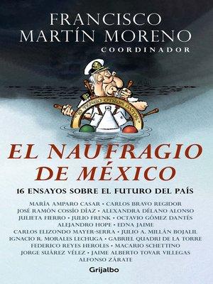 cover image of El naufragio de México