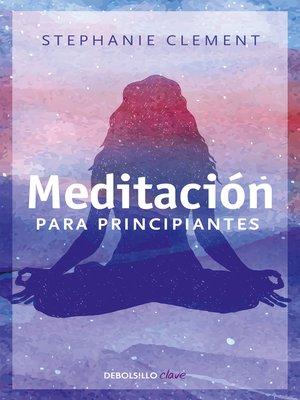cover image of Meditación para principiantes