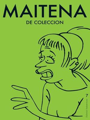 cover image of Maitena de coleccion 7