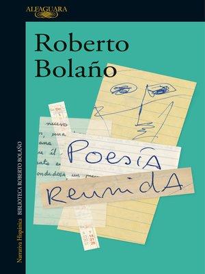 cover image of Poesía reunida