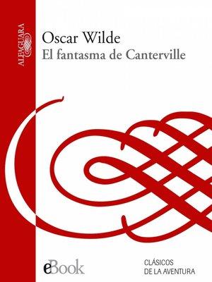 cover image of El fantasma de Canterville