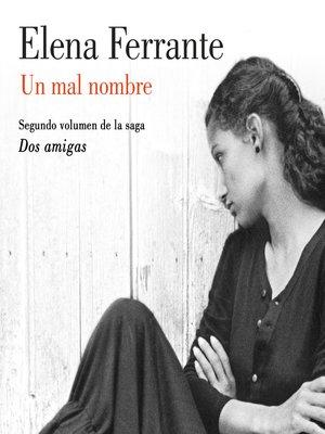 cover image of Un mal nombre