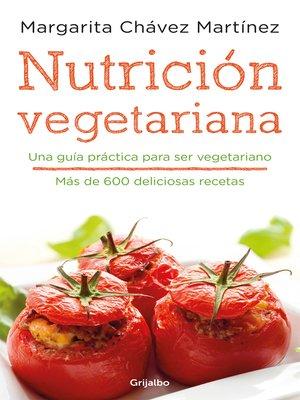 cover image of Nutrición vegetariana